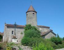 Eglise de Saint-Étienne-de-Vicq Vue extérieure Ⓒ Mairie St-Etienne-de-Vicq