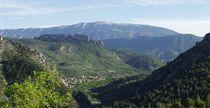 Circuit moto dans les Baronnies en Drôme Provençale