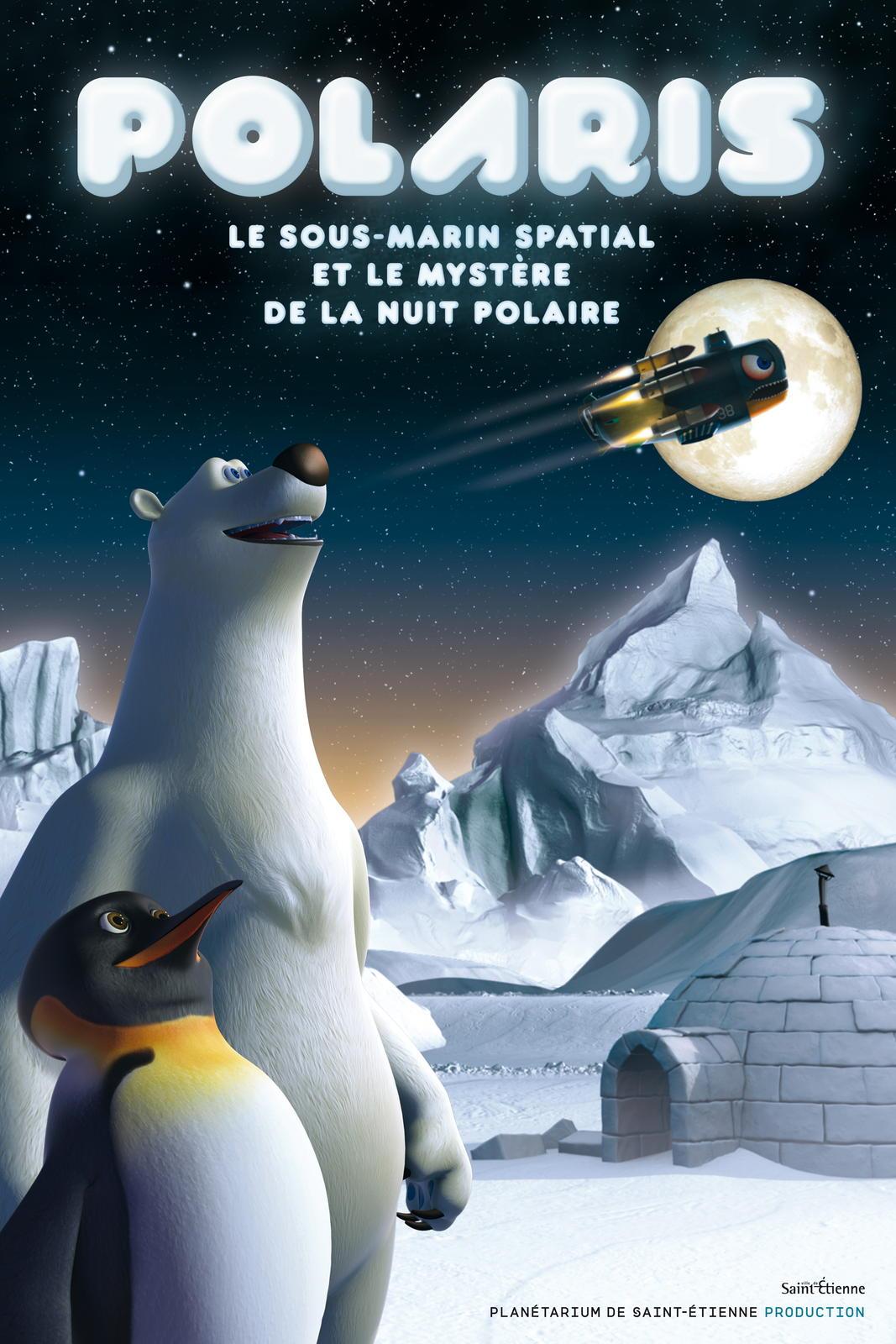 Polaris, le sous marin spatial et le mystère de la nuit polaire (3D)
