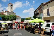 Une matinée sur le marché d'Alba la Romaine ©OTISARV
