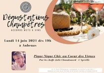 Dégustation Accords mets / vins : Pique-Nique Chic - Aubenas