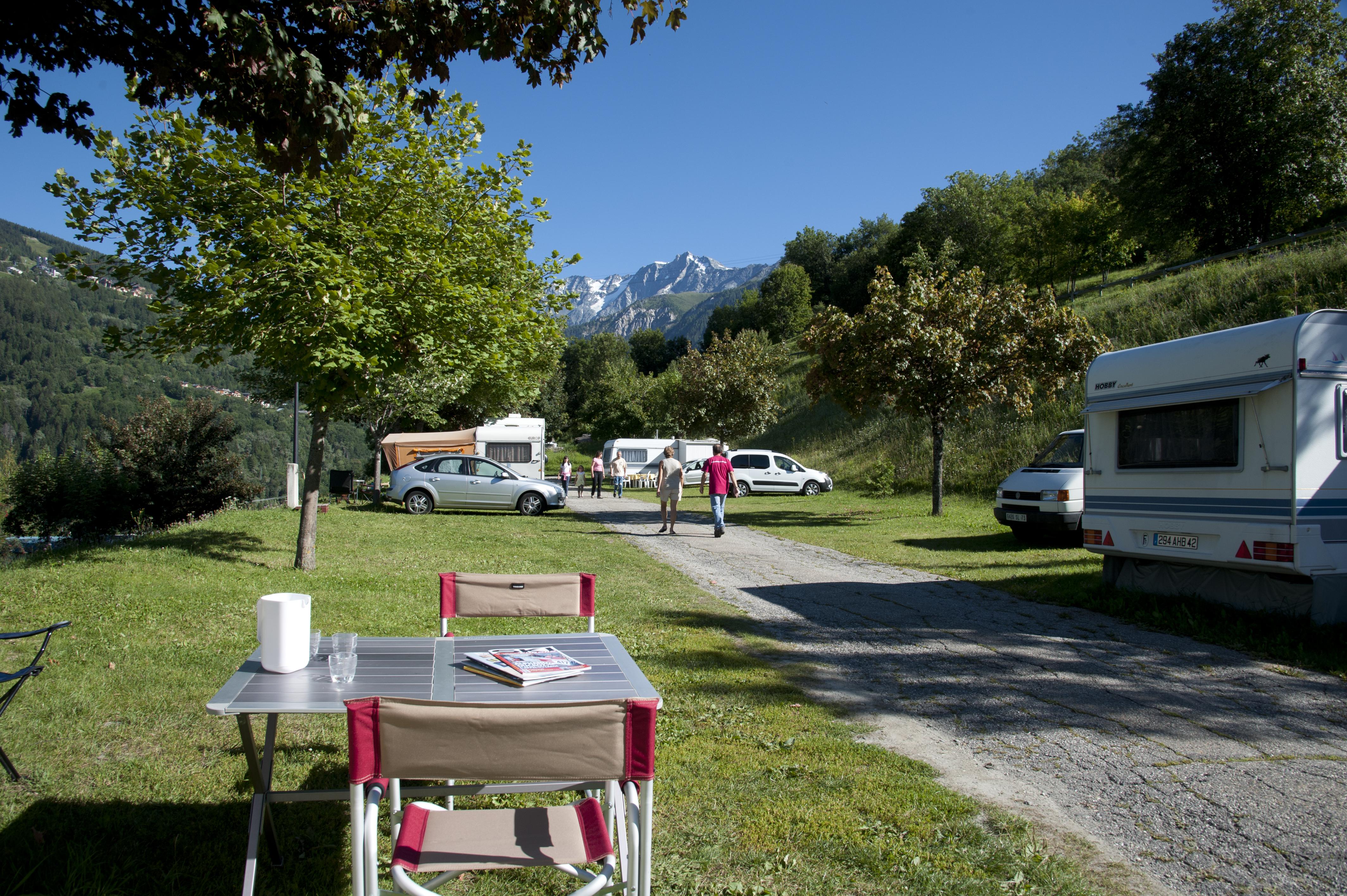 Camping Caravaneige Montchavin-La Plagne