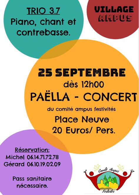 Paëlla - Concert