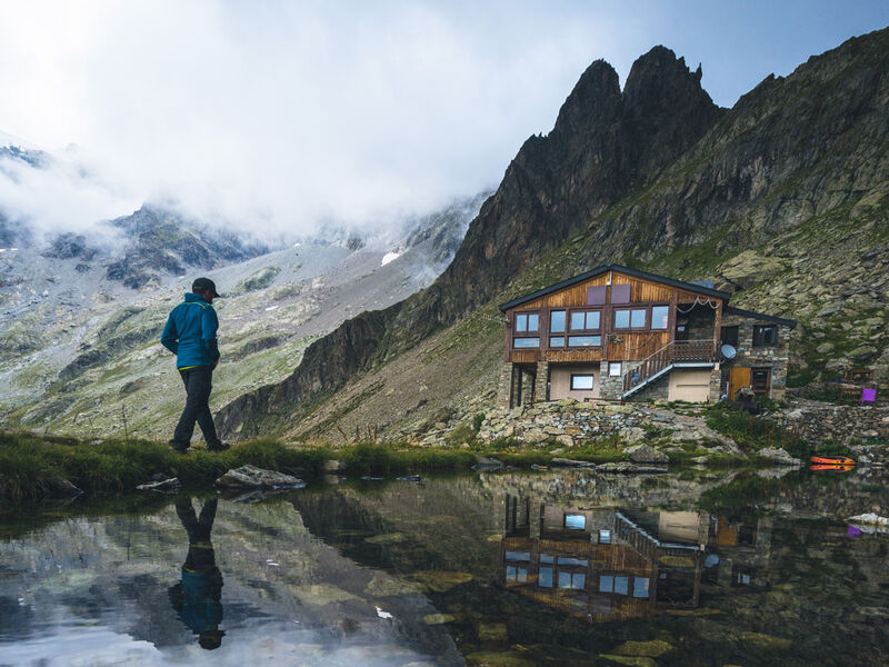 Refuge du Pigeonnier, vallée du Valgaudemar - © Monsieur Aventure