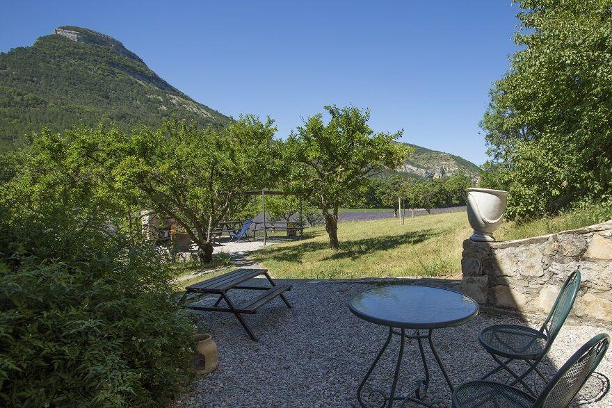 Terrasse extérieure - © L.Ravel