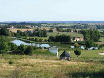 Notre-Dame-de-la-Défense Vue sur étang Ⓒ Commune Bellenaves