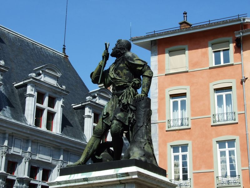 Statue Bayard