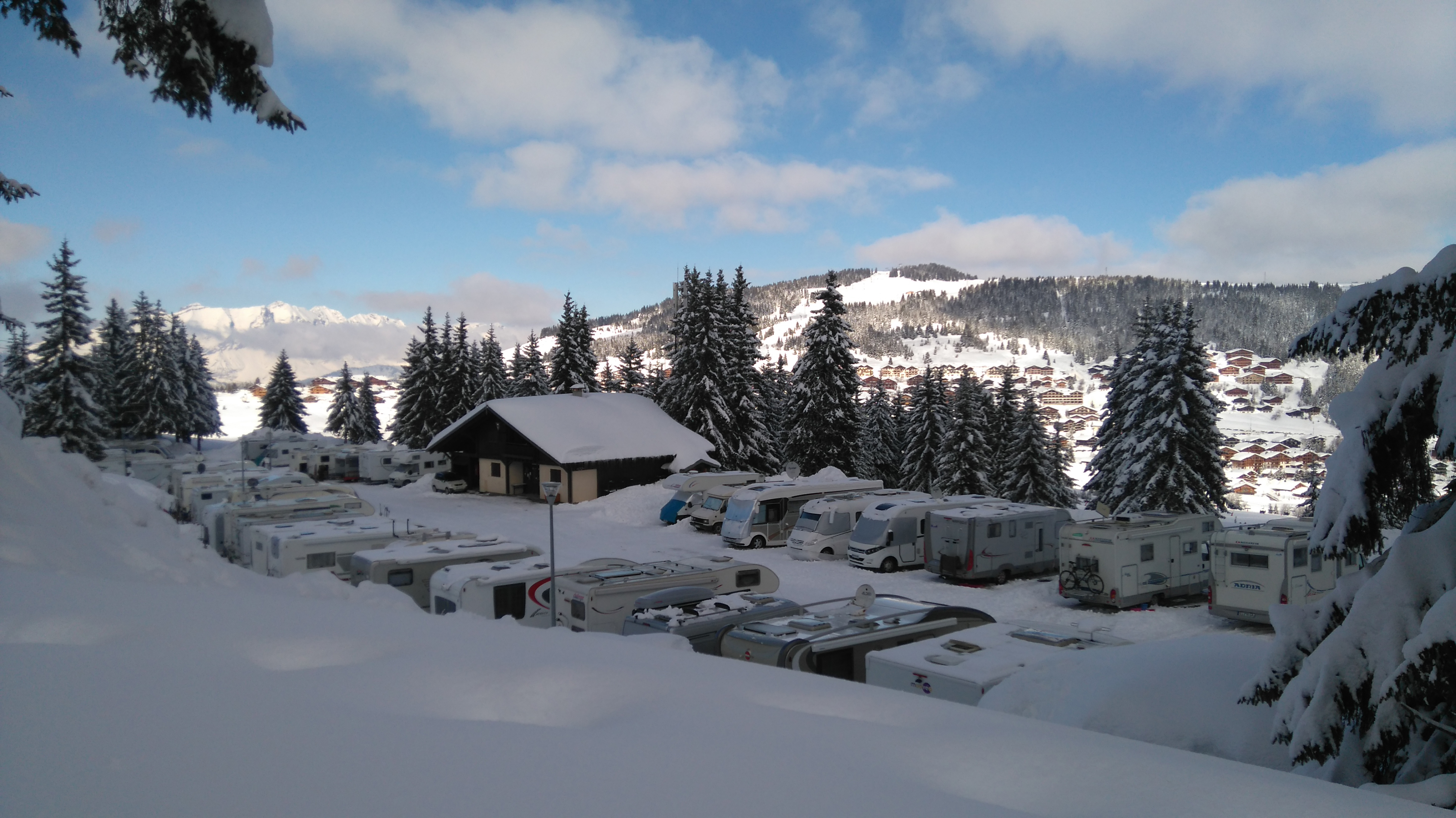 Aire de service du Grand Tétras - Camping-car