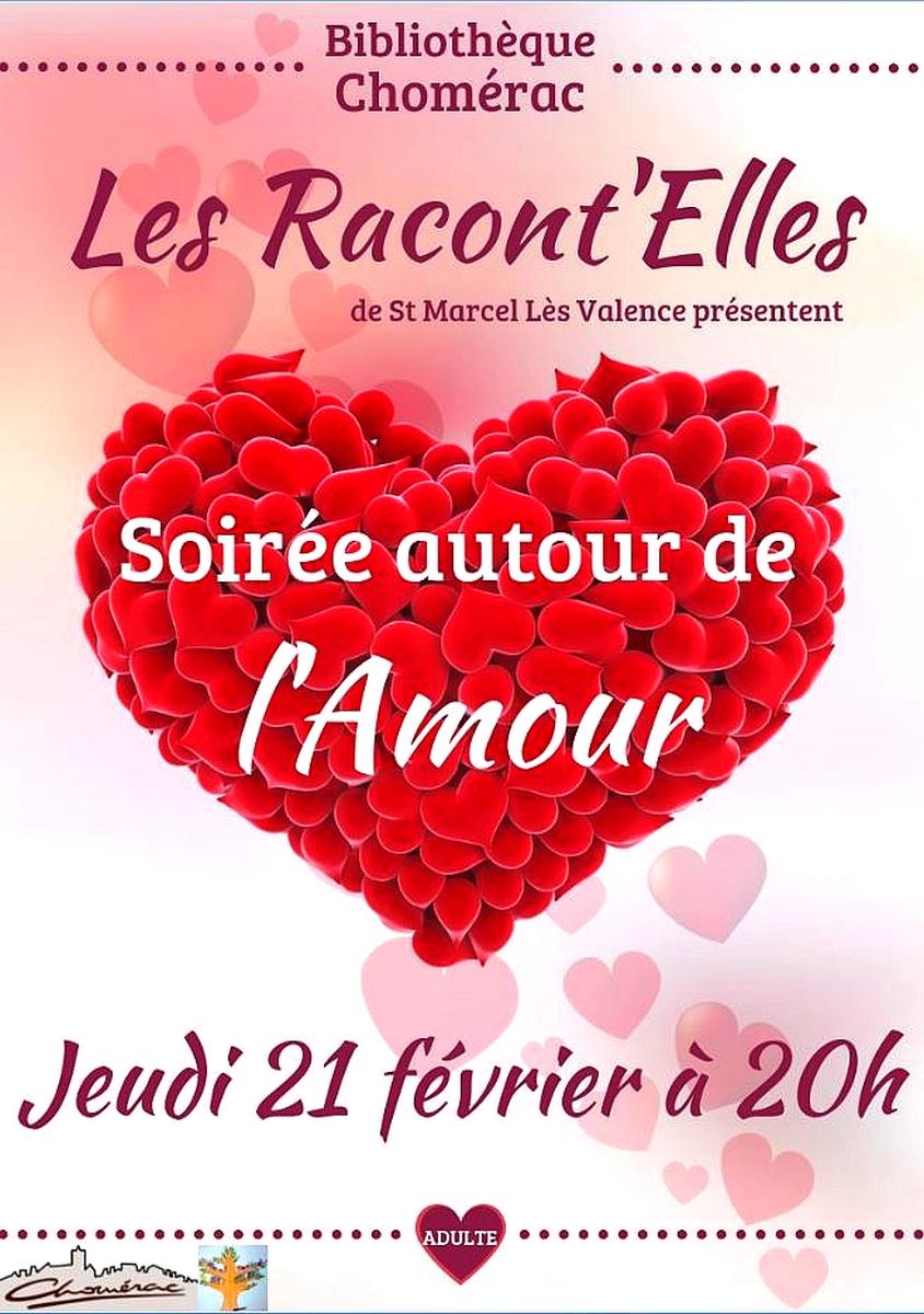 Events…Put it in your diary : Soirée autour de l'amour