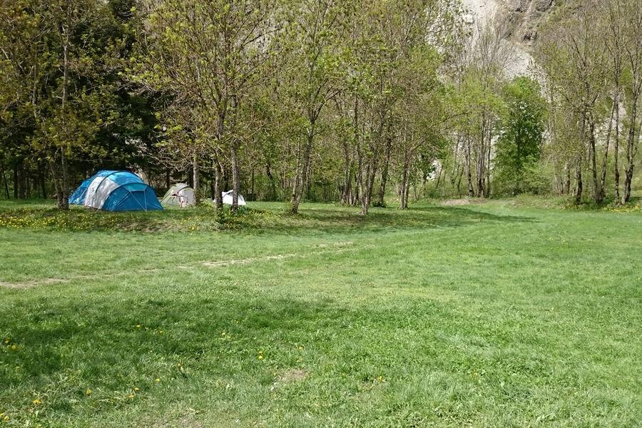 Camping Les Mélèzes - © C. Couly