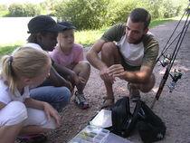 Plan d'eau Les Acacias - Lapalisse Initiation à la pêche Ⓒ Plan d'eau Les Acacias - Lapalisse - 2013