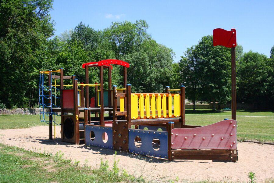 Aire de jeux Parc Bignon Bourbon
