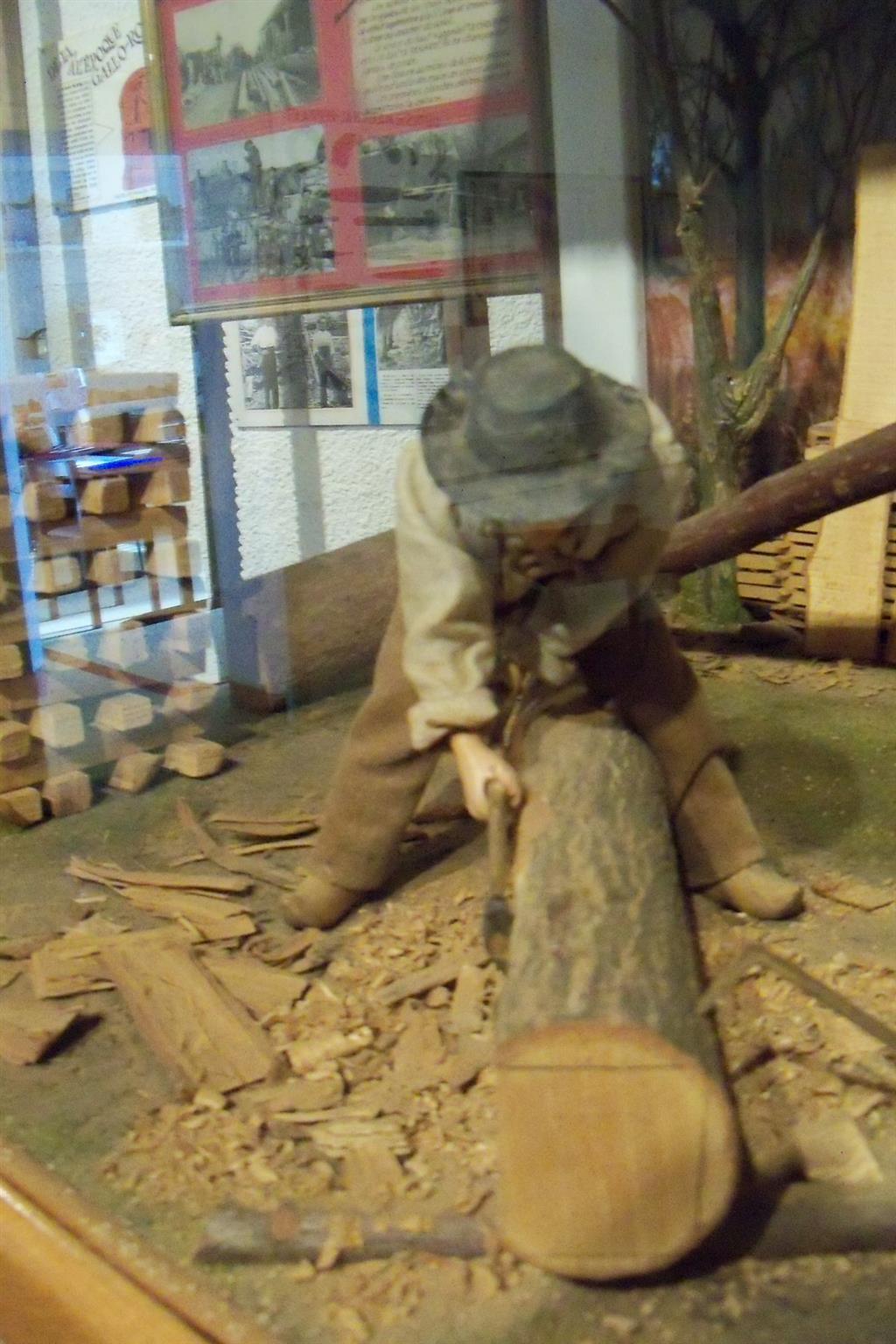 Musée des maquettes - Vallon Bûcheron Ⓒ Vallon arts et traditions