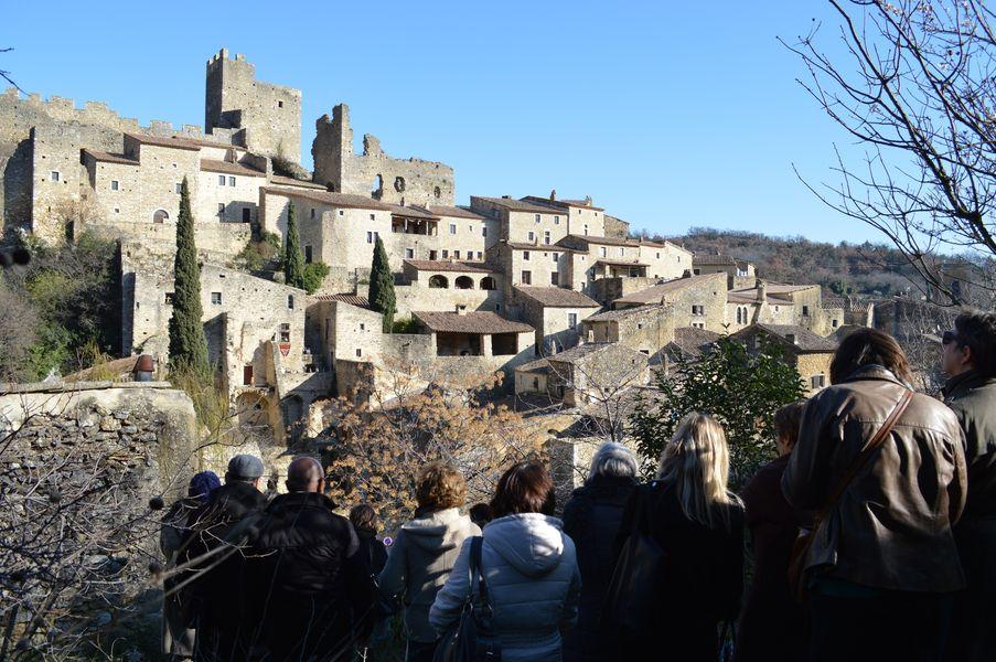 Visite de groupes thématique - la protection du patrimoine à Saint-Montan - Saint-Montan