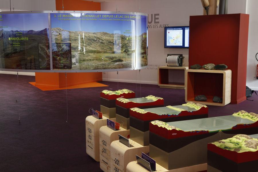 Centre Briançonnais de Géologie Alpin - Puy Saint Andrée - © CGBA