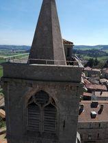 Visite du clocher de la Collégiale de St Bonnet le Château (42380)
