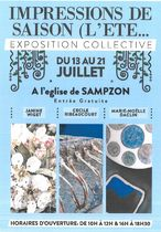 Exposition collective: impressions de saison - Sampzon