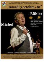 Concert Michel Bühler - Pourchères