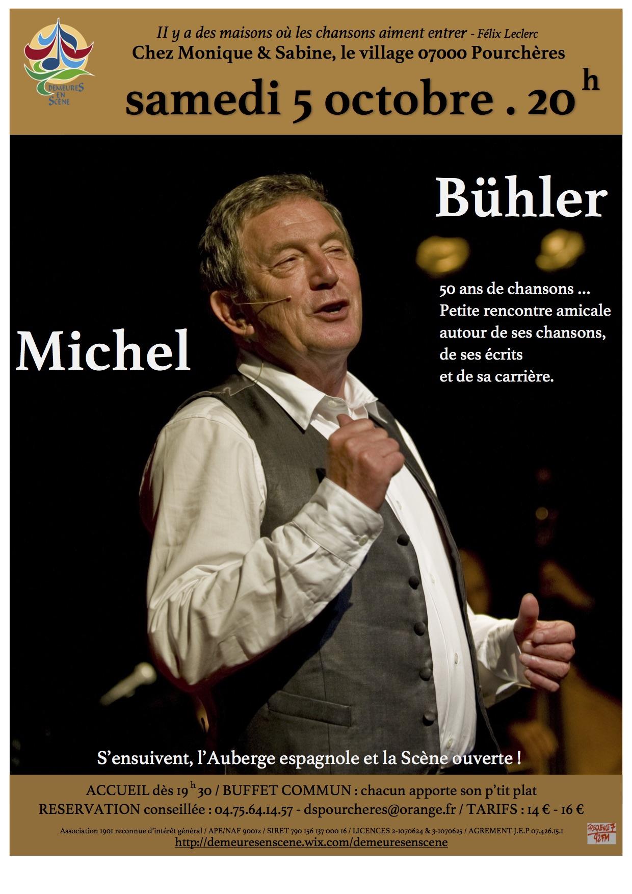 Rendez-vous futés ! : Concert Michel Bühler