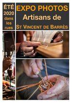 Exposition photos à St Vincent de Brrès - Saint-Vincent-de-Barrès