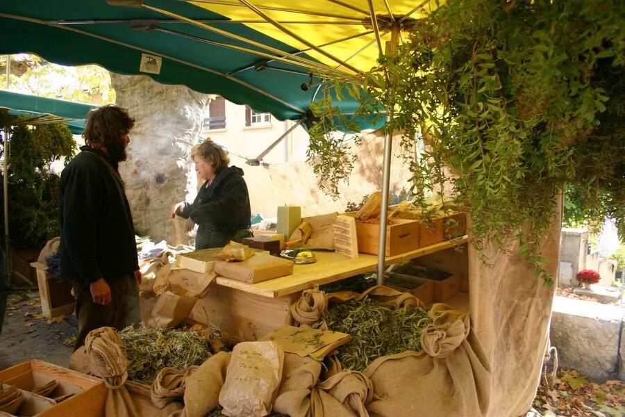 Marché aux Fruits Anciens - � Asso Fruits Anciens de l'Orpierrois