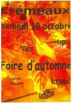 Foire d'automne de Cremeaux