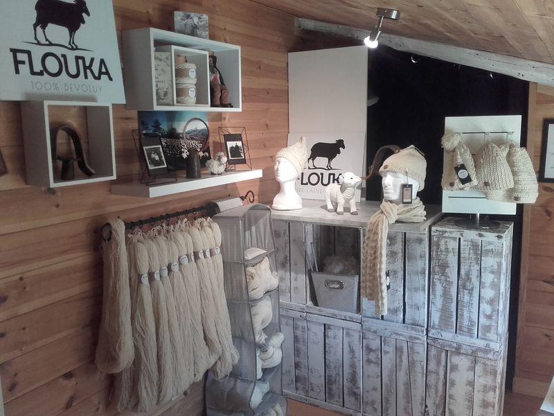 Ferme Flouka, producteur de laine dans Le Dévoluy, Hautes-Alpes - © Ferme Flouka