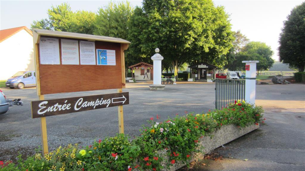 Camping Le Gué de Loire Entrée du camping Ⓒ Camping le Gué de Loire - 2015