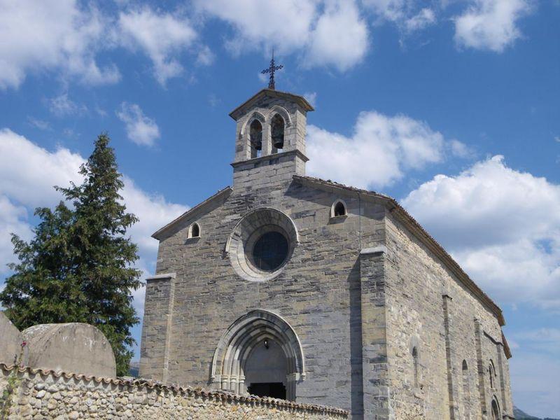 Eglise de Lagrand - © Office de Tourisme Sisteron Buëch