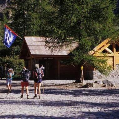 Centre d'accueil du Pré de Mme Carle - © Parc national des Ecrins