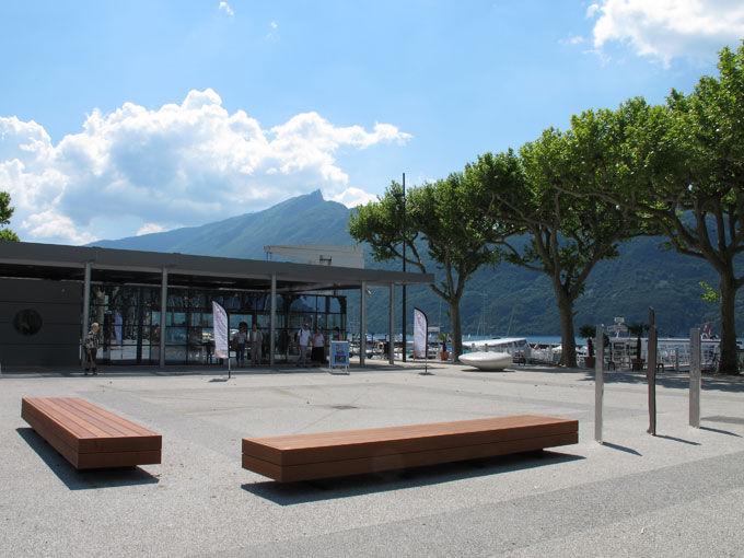 Grand Port d'Aix-les-Bains - Pavillon d'accueil