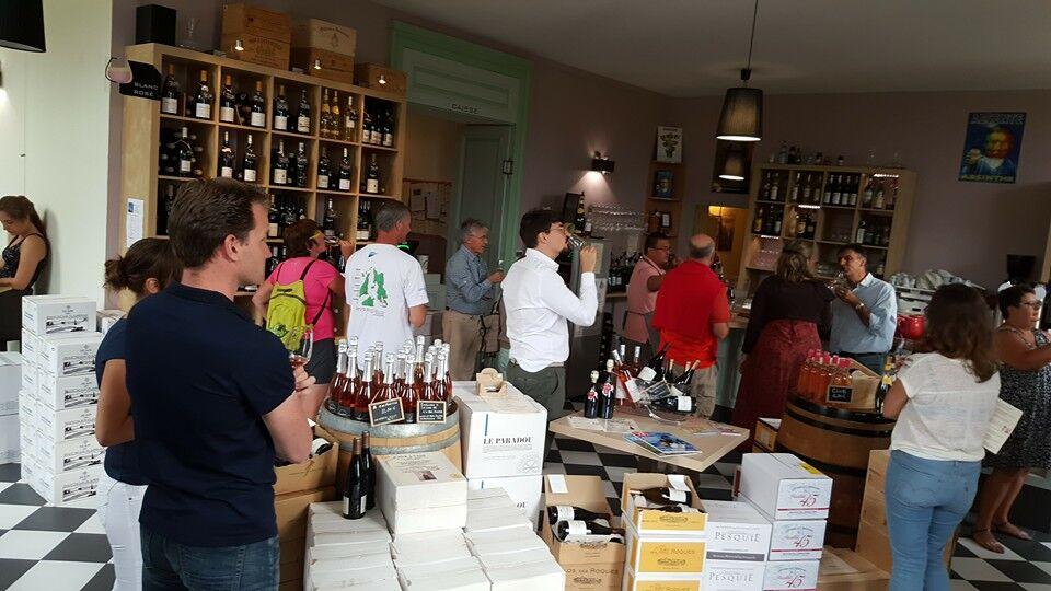 Dégustation de vins (Baladez curieux)