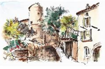 Visite gratuite du village de Salavas - Salavas