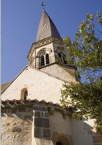 Église Saint-Bonnet Clocher tors Ⓒ 2020