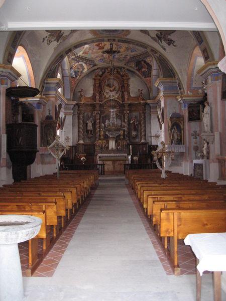 Patrimoine religieux maurienne tourisme saint fran ois longchamp - St francois longchamp office de tourisme ...