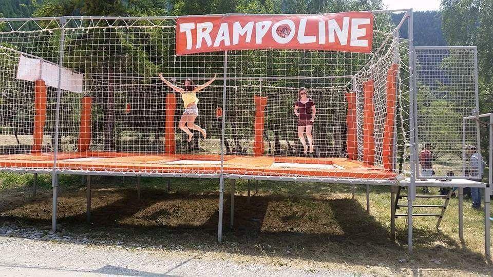 Trampoline - © Marie Perrier