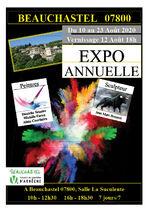 Expo annuelle - Beauchastel