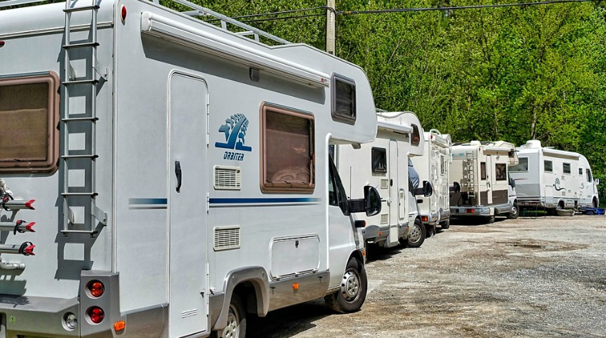 Aire de services camping-cars