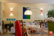 Hôtel Au coeur de Meaulne Salle de restaurant Ⓒ JF. Pujante - 2014