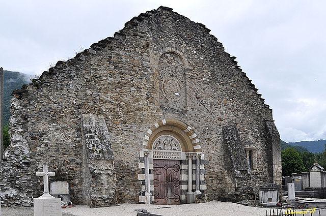 Ancienne église, prieurale, cimetière de Vizille