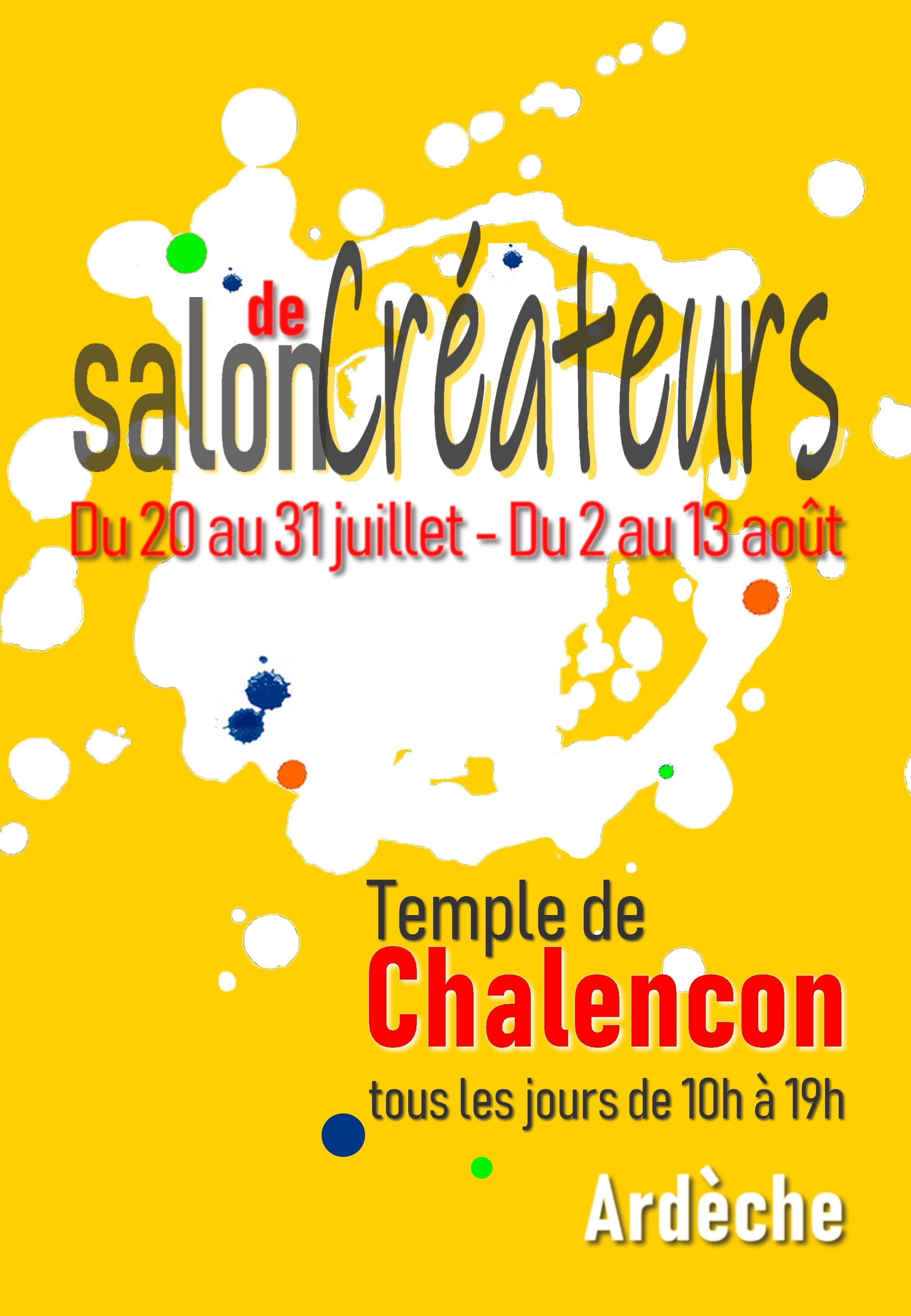 Salon des créateurs (exposition-vente de créations artistiques et artisanales)