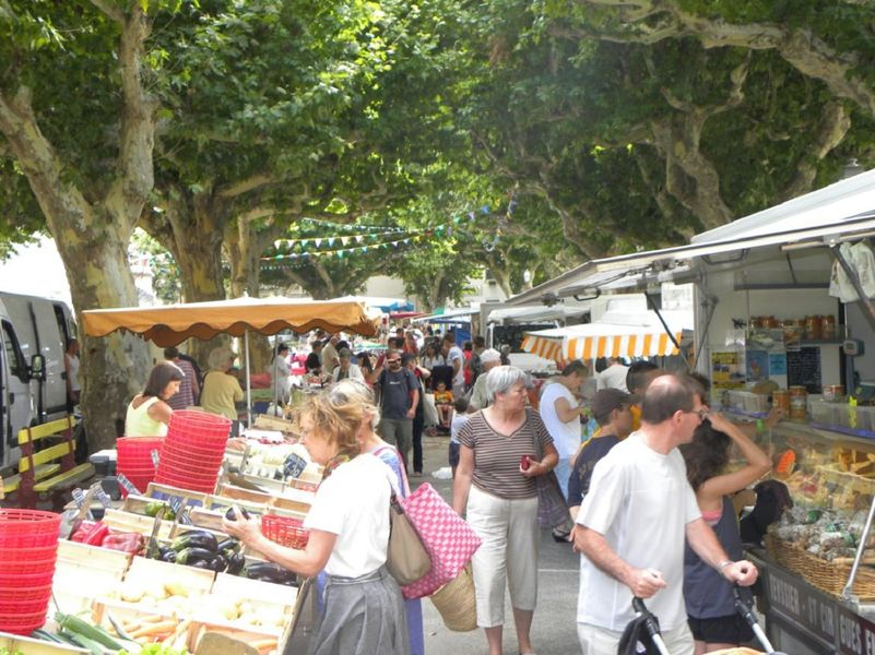 Marché - Viviers