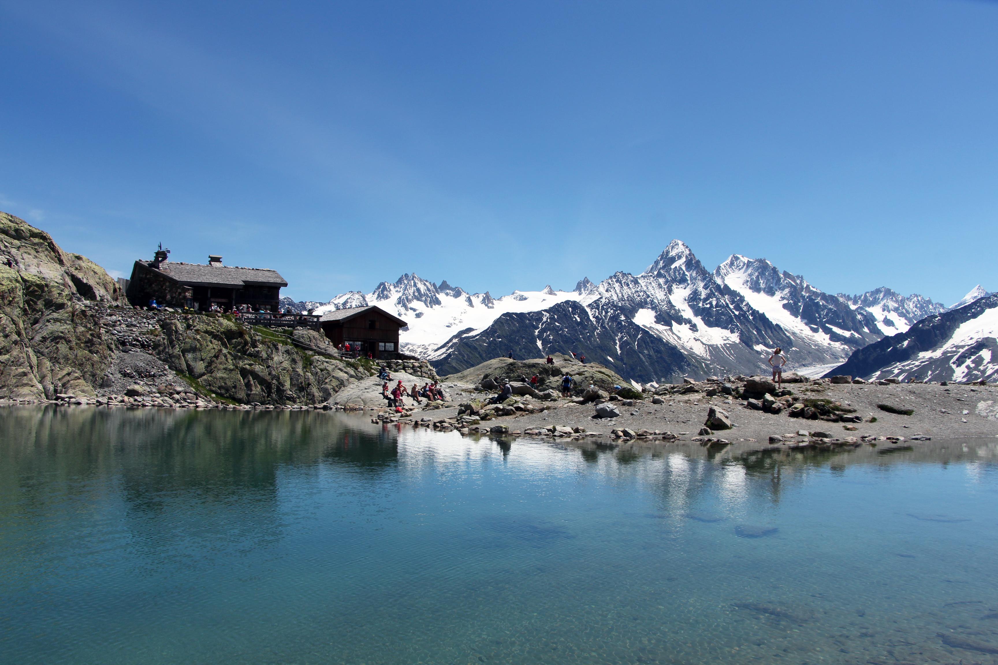 Lac Blanc et Refuge