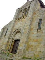 Église Saint-Laurent Façade Ⓒ Mairie de Bert