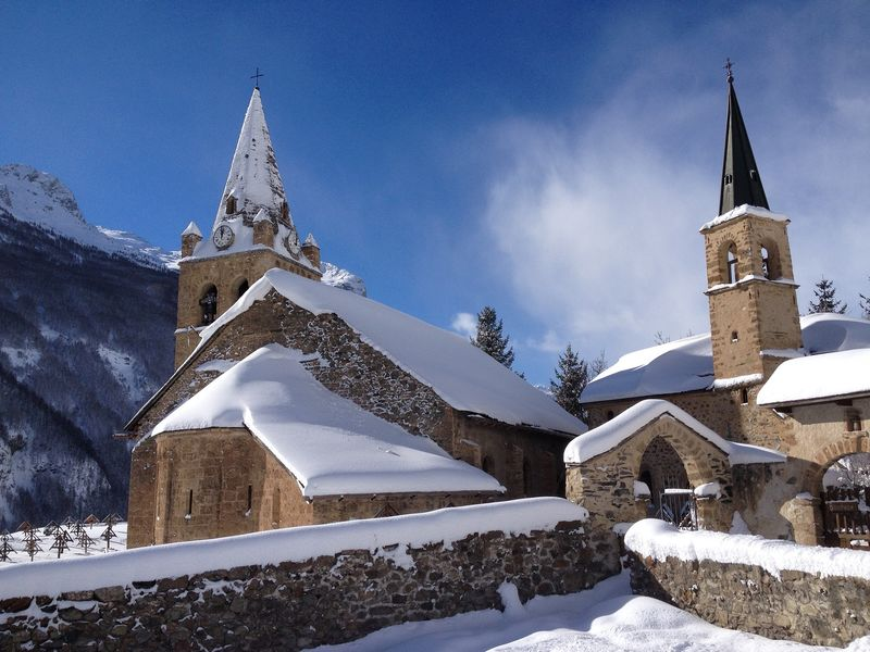 Eglise de La Grave - © © OTHV / J. Selberg