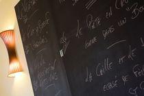 Hôtel Au coeur de Meaulne Menu Ⓒ Jérôme Mondière - 2014
