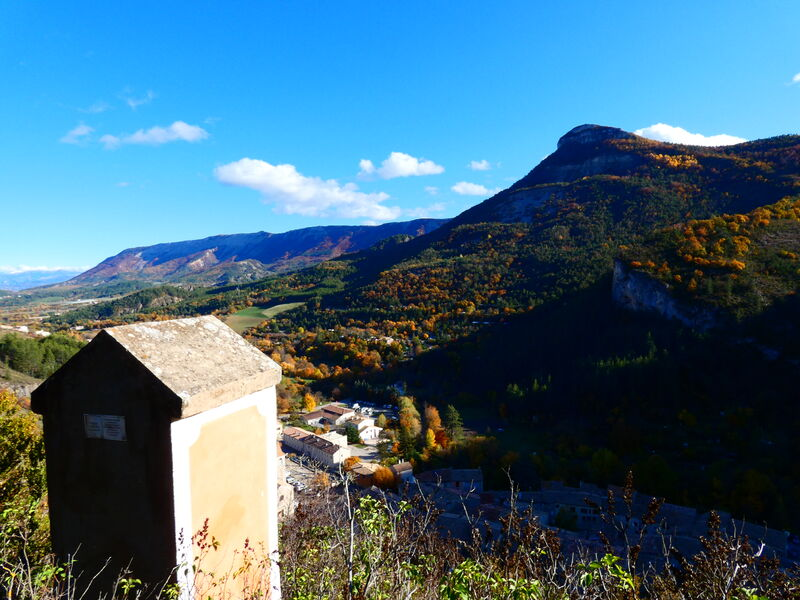 L'oratoire du Gros Doigt - © Office de Tourisme Sisteron Buëch