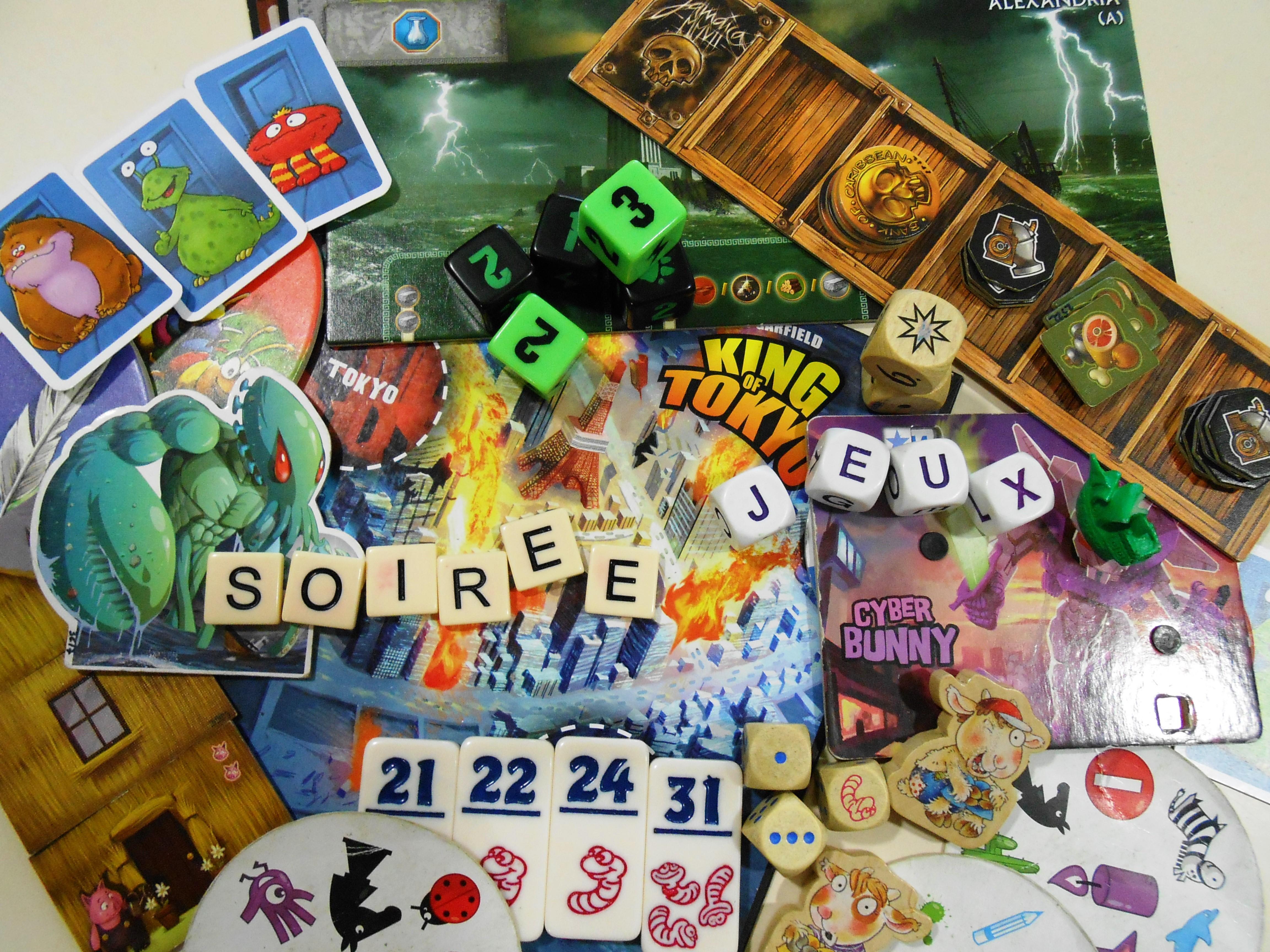 Rendez-vous futés ! : Soirée jeux (jeux de plateaux, de stratégies, de cartes...)