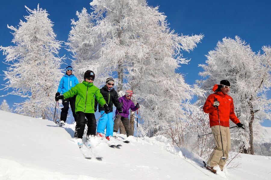 Ski en famille à Ancelle - © R Fabregue