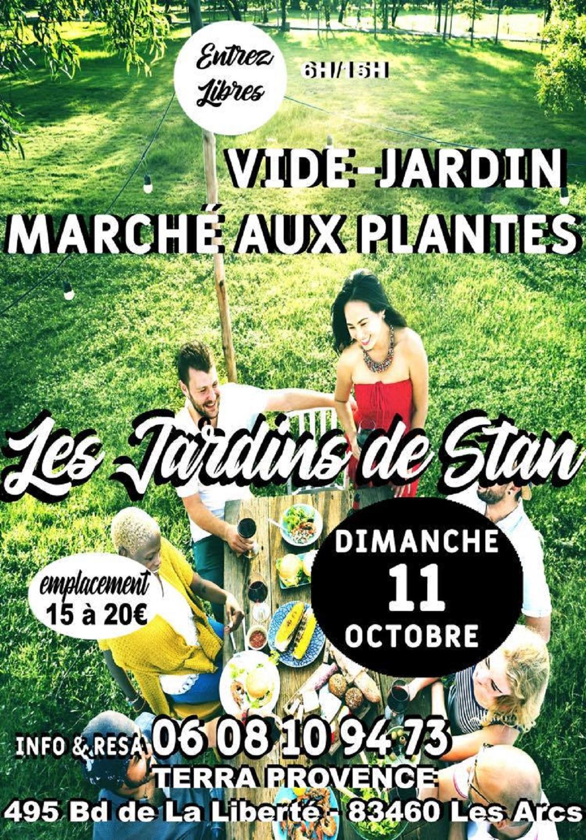 Les Jardins de Stan : Vide jardins & marché aux plantes